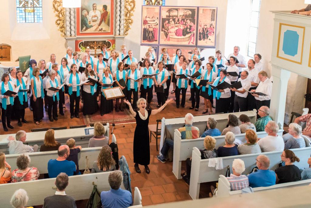 Jubiläumskonzert 2017 in der Falkenhagener Kirche